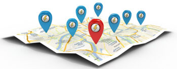 Map Targeting Multiple Cities With SEO